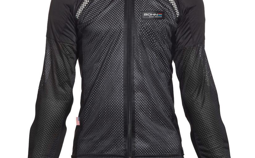 Armored Motorcycle Shirt - Black Airtex Bohn Body Armor