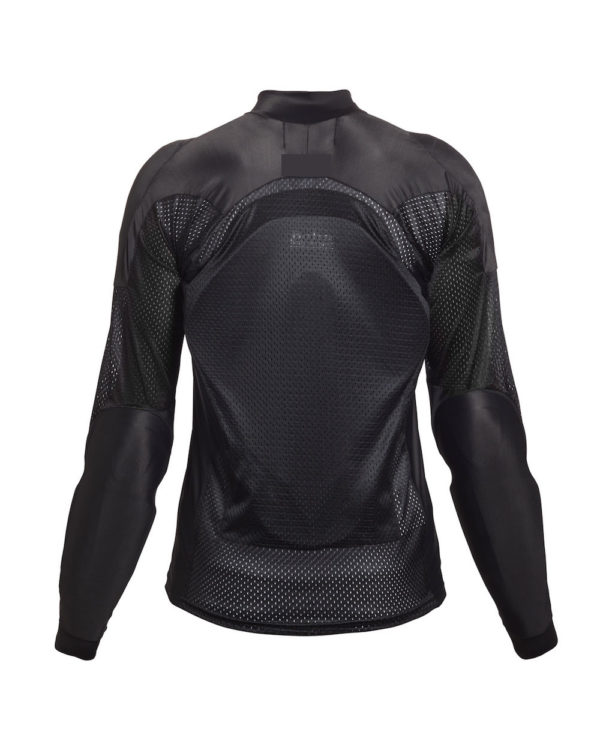 Bohn Body Armor - Airtex Armored Riding Shirt Black back