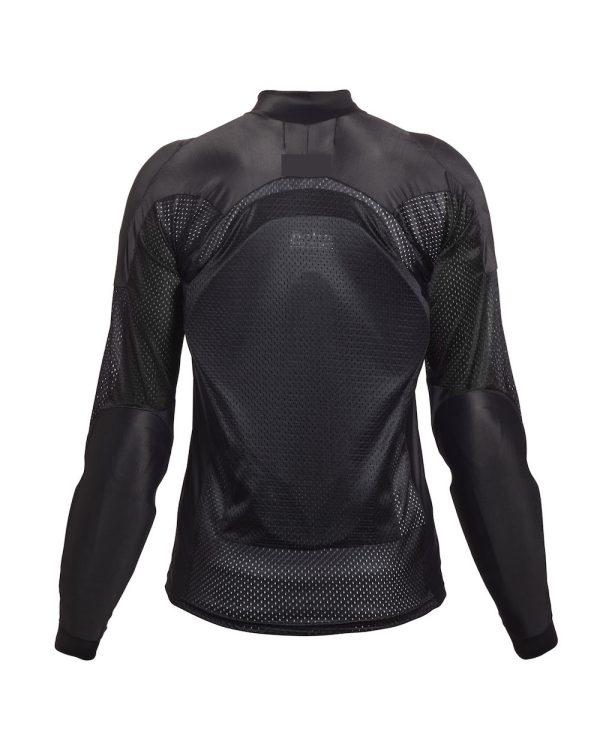 Bohn Body Armor - Airtex Armored Riding Shirt Black back
