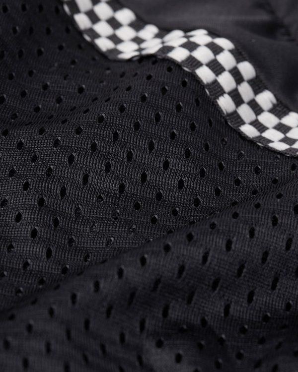 Bohn Body Armor All Season Airtex Armored Motorcycle Riding Shirt Black Fabric Swatch