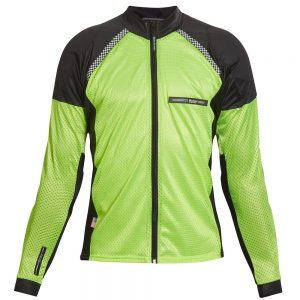 All-Season Airtex Armored Riding Shirt – Hi-Vis Yellow