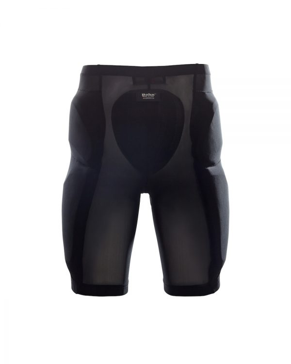 Bohn Body Armor Cool-Air Mesh Riding Shorts Black Back