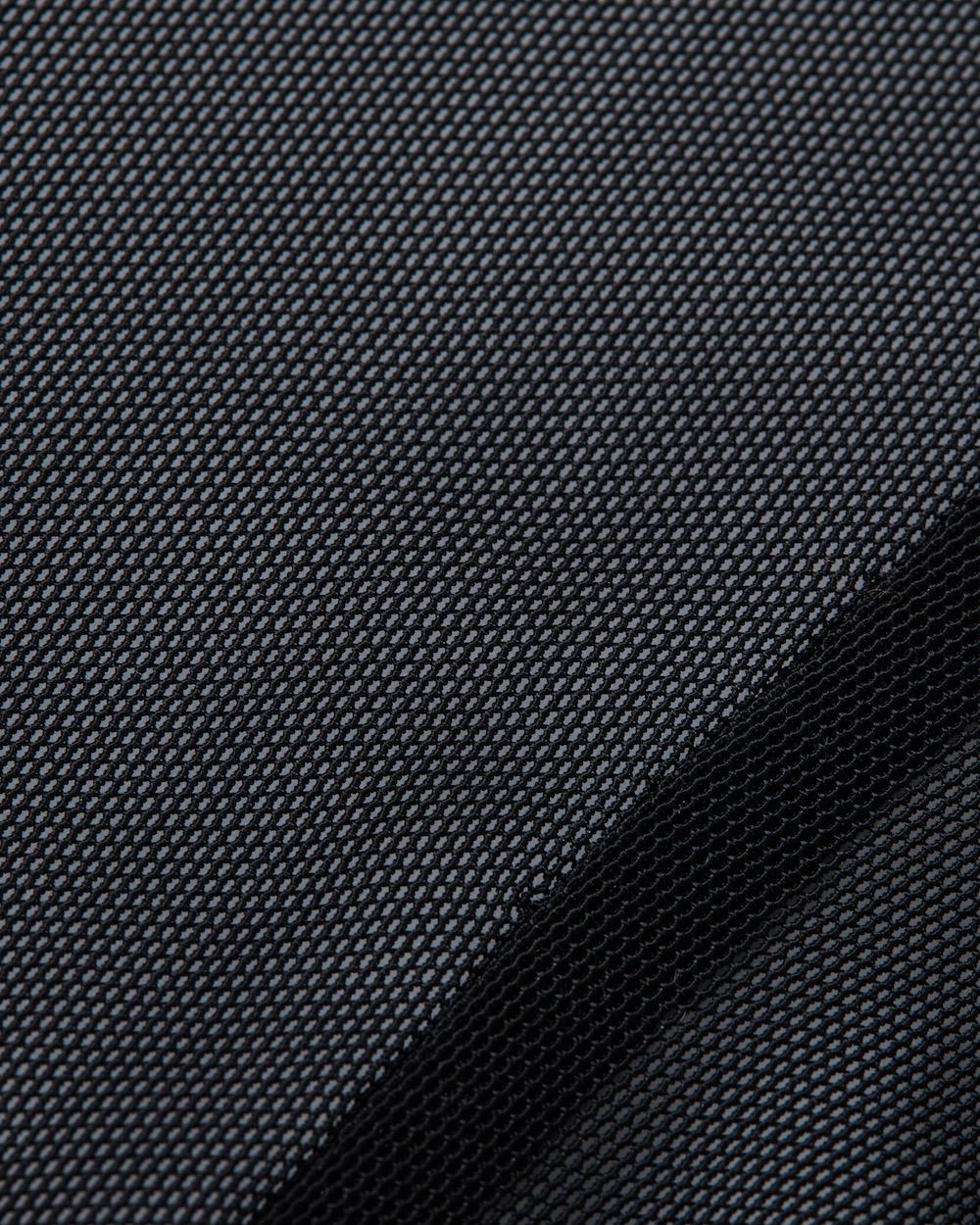 52d01e853eb1 Bohn Body Armor Cool-Air Mesh Riding Shorts Black Fabric Swatch