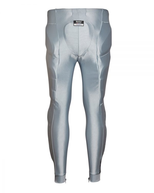 Bohn Body Armor Performance-Thermal Motorcycle Pants Silver Back