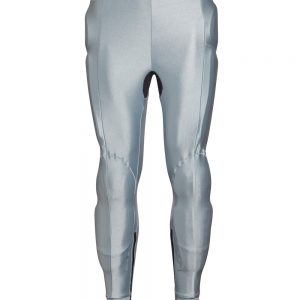 Bohn Body Armor Performance-Thermal Motorcycle Pants Silver Front