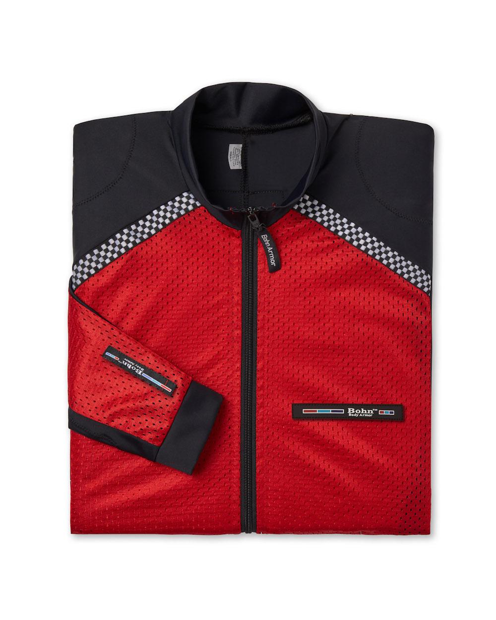 73ddce7698e All-Season Airtex Riding Shirt Shell - Red + Black