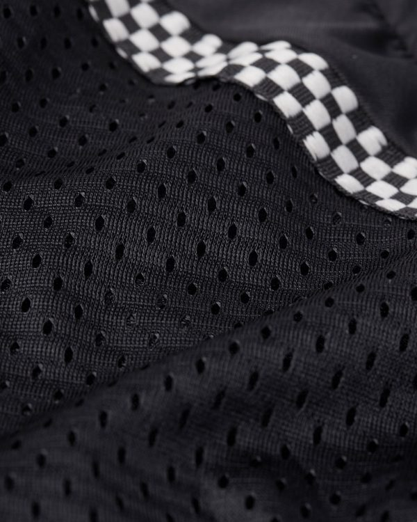 All-Season Airtex Shirt Black Fabric Swatch