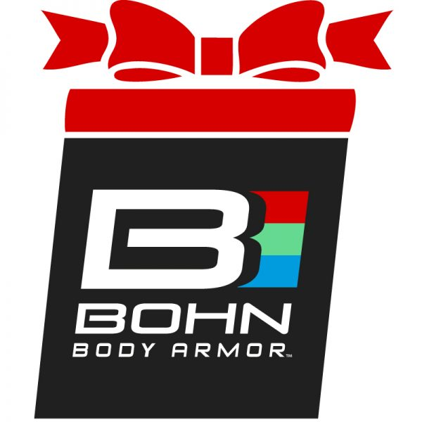 Bohn holiday graphic with bow