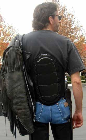 Bohn Armor Cruiser Motorcycle Back Protector