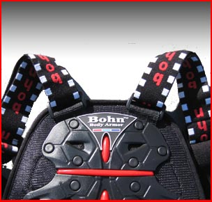 Bohn Armor KC40 Euro-RR Motorcycle Back Protector-Closeup