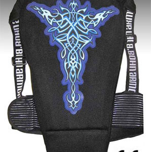 Bohn Armor Tribal Motorcycle Back Protector back sidecloseout
