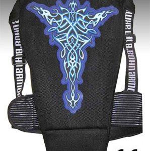 Bohn Armor Tribal Motorcycle Back Protector back sidecloseout