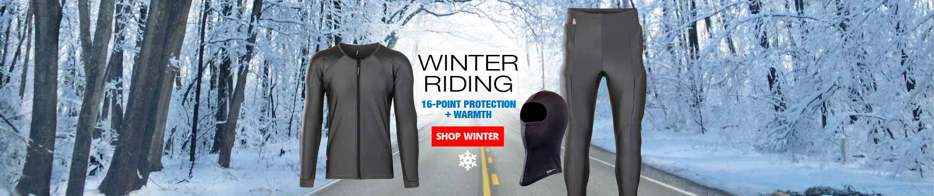Winter riding graphic with no free balaclava