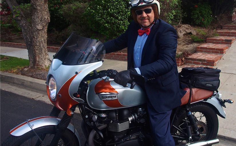 Distiguished Gentlemans Ride with Bohn Body Armor