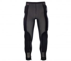 Hot weather Armored motorcycle riding pants back view