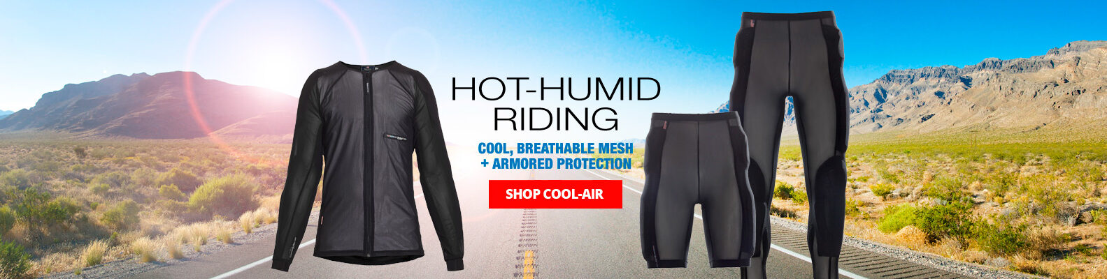 Hot and Humid Riding slider graphic