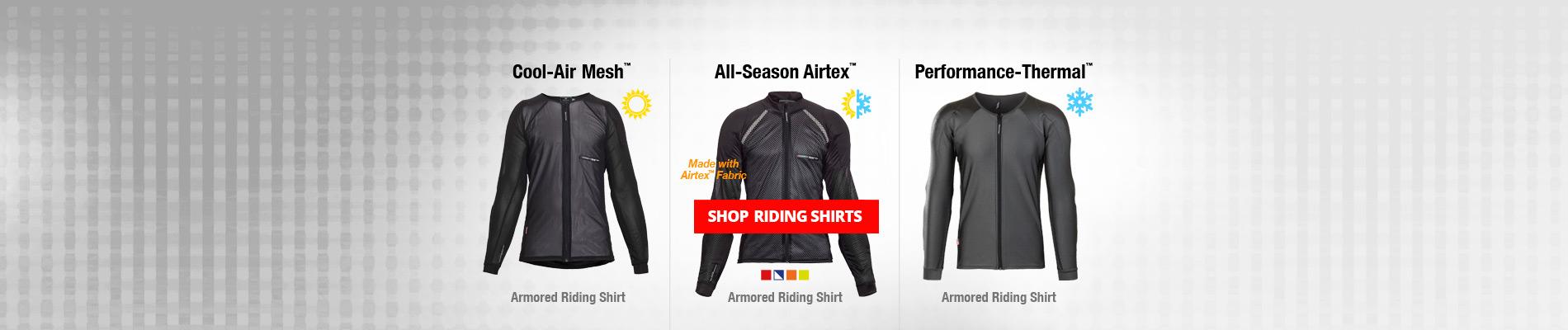 sale on riding Bohn Armor shirts graphic