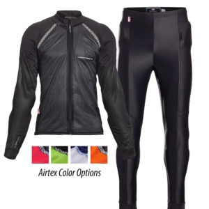 Airtex and Adventure Combo Motorcycle Riding Shirt and Pants