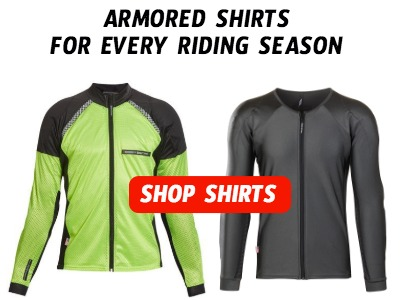 Armored Shirts for every Motorcycle Riding Season
