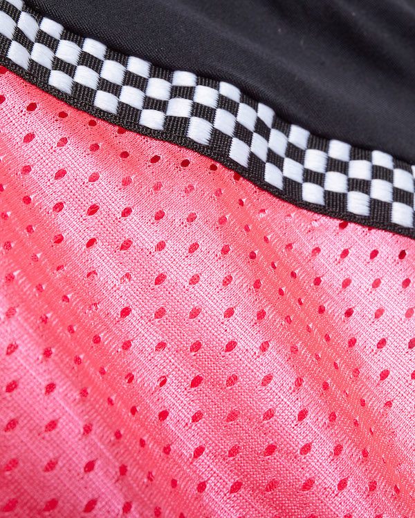 Swatch of the Pink Armored Motorcycle Riding Shirt