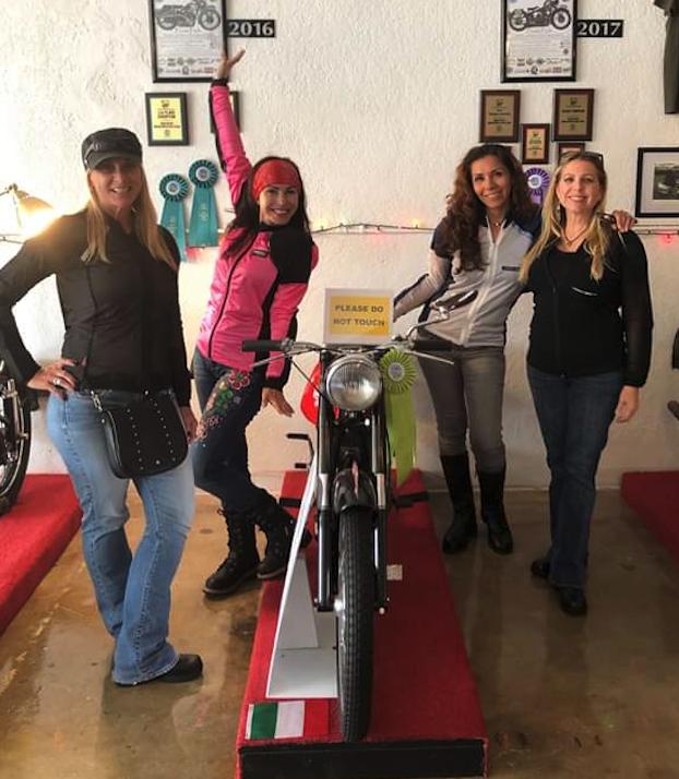Bohn Body Armor Customers wearing their Bohn Body Armor Gear - pink, white, black and cool-air mesh armored riding shirt