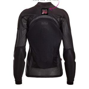Black Girls Ride - All-Season Airtex Shirt in all Black - Comfortable Riding Shirt