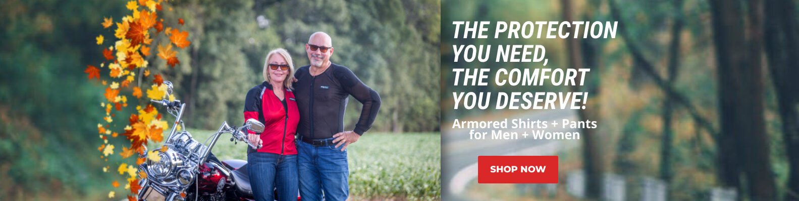 Fall Riding is in the Air - Bohn Body Armor Fall Riding Graphic
