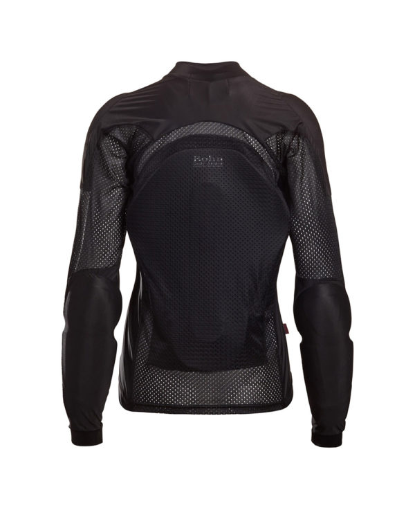 BOHN-BODY-ARMOR-ARMORED RIDING SHIRT - BLACK WOMENS BACK