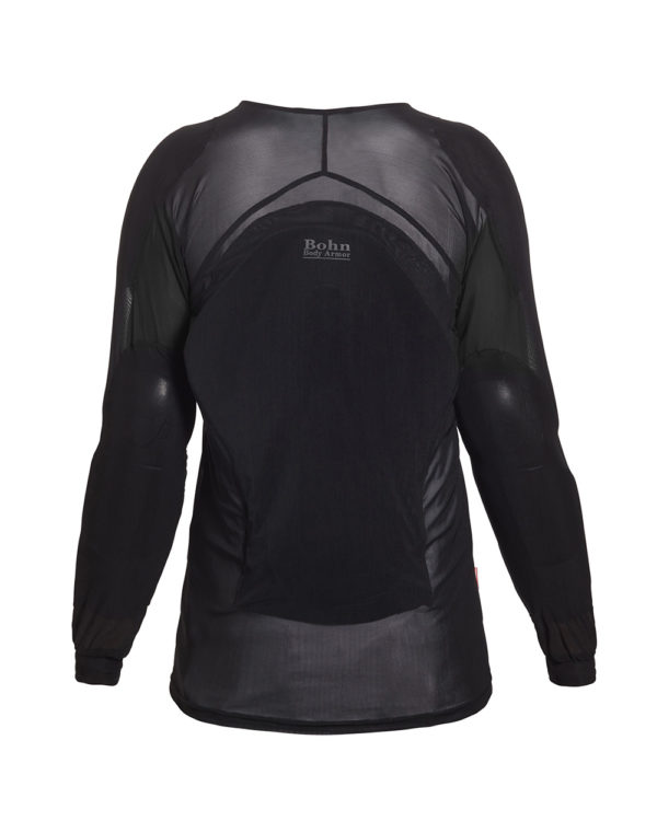 BOHN BODY ARMOR - ARMORED RIDING SHIRT - COOL-AIR MESH BACK