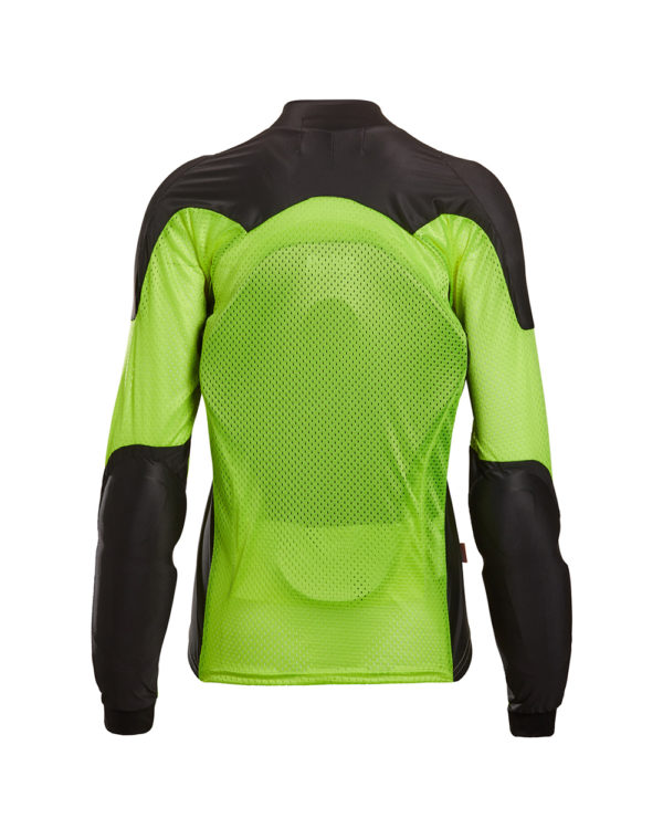 BOHN-BODY-ARMOR-ARMORED RIDING SHIRT - YELLOW - WOMENS - back