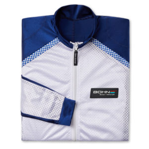 BOHN BODY ARMOR - RIDING SHIRT - AIRTEX-FOLDED-BLUEWHITE-2584