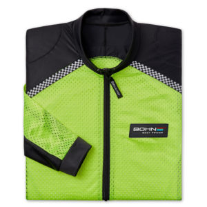 BOHN BODY ARMOR - RIDING SHIRT - AIRTEX-FOLDED-HI VISIBILITY YELLOW