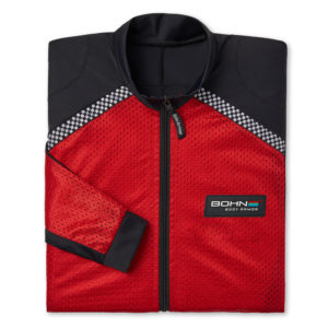 BOHN BODY ARMOR - RIDING SHIRT - AIRTEX-FOLDED-RED