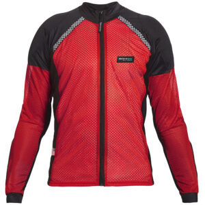BOHN-BODY-ARMOR-ARMORED RIDING SHIRT - RED