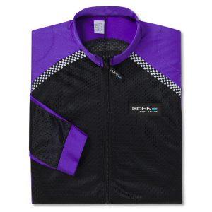 Bohn Body Armor - Purple Airtex Fabric Replacement Shell