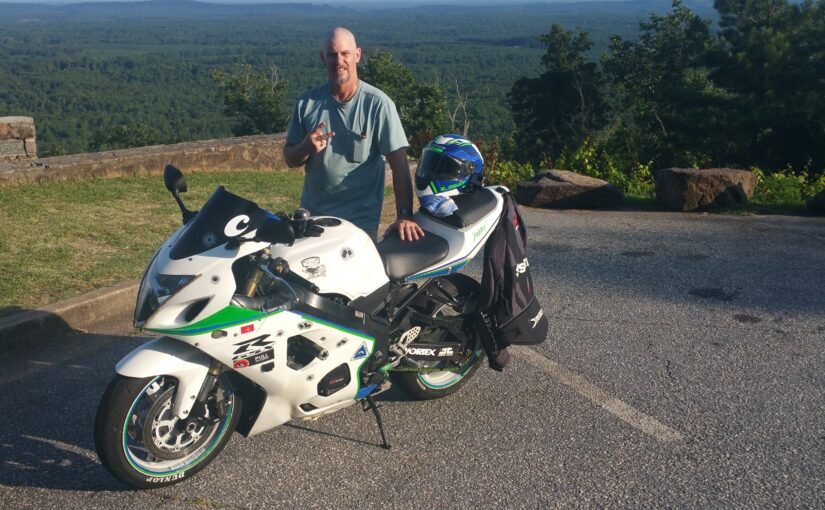 Jonathan Boyd Motorcycle Accident wearing Bohn Body Armor Armored Motorcycle Riding Pants