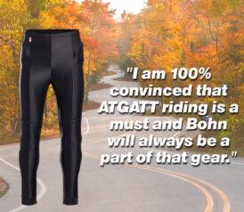 ATGATT - review for Bohn Body Armor Riding Pants