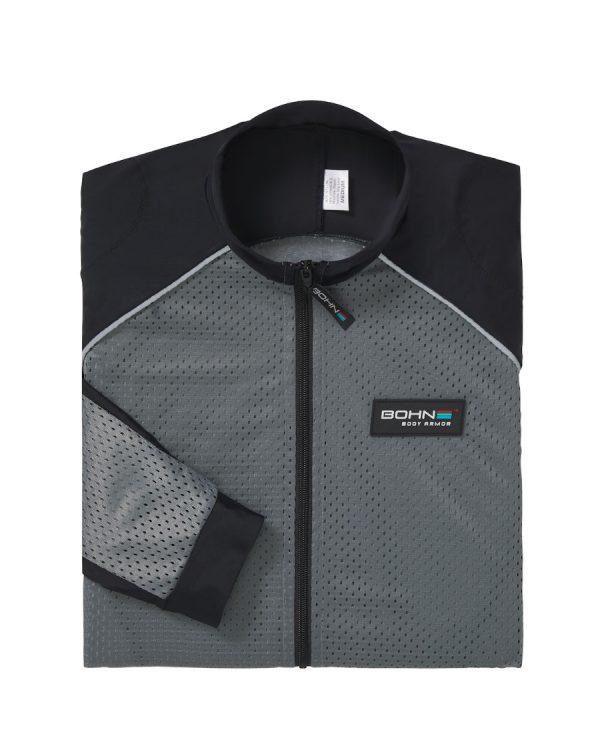 Bohn Body Armor - Grey Folded Mesh Riding Shirt